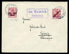75121) Ramleh,Jaffa,Brief,Deutsche Post