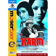 KARM (RAJESH KHANNA, SHABANA AZMI) - BOLLYWOOD HINDI DVD