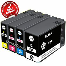 *4 pk PGI-1200XL B/C/M/Y Ink Cartridge For Canon MAXIFY MB2020 MB2320 w/Chip