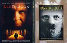 HANNIBAL-RED DRAGON-SILENCE OF THE LAMBS: Anthony Hopkins Film Trilogy NEW 3 DVD