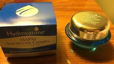 NIB Hydroxatone Am/PM Anti-Wrinkle Complex wtih SPF 15, 0.5 oz Exp 8/17
