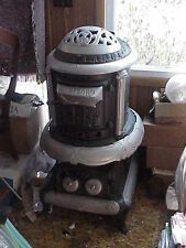Victorian HARTFORD Cast Iron Pot Belly Parlor Wood Stove #22 NICE for Man-Cave