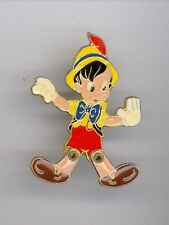 Walt Disney Home Video Pinocchio Puppet Jointed Legs France 1990s Pin