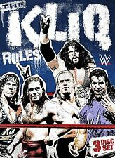 WWE The Kliq Rules 3er [DVD] NEU Triple H, HBK, X-Pac, Scott Hall, Kevin Nash