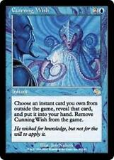 CUNNING WISH Judgment MTG Blue Instant RARE