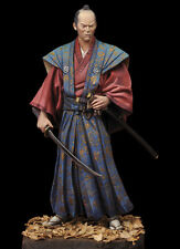 Andrea Miniatures Japanese Samurai Daimyo 1750 75mm Model Unpainted kit