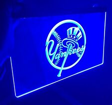 NEW YORK YANKEES LOGO LED Sign for Game Room,Office,Bar,Man Cave, Decor NEW