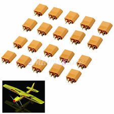10 Pairs XT60 High Quality Male/Female Bullet Connectors Plugs RC Battery Plane
