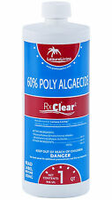 Rx Clear Swimming Pool Algaecide 60 Plus (4 Pack)