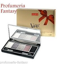 PUPA PALETTE VAMP! GOLD EDITION 5 OMBRETTI 008 SMOKY CHIC EYESHADOW