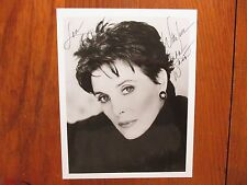 "LINDA  DANO(""Another World/Felicia Gallant"")Signed 8 x 10 Black and White Photo)"