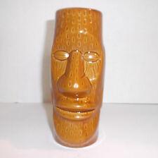7 Inch Ceramic TIKI MUG Marked DW128