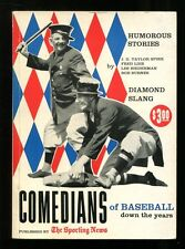 Comedians of Baseball Down the Years Book Max Patkin Sporting News MGBX1