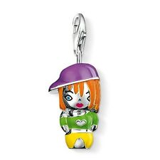 NEW Thomas Sabo Sterling Silver Multi-coloured Enamel Doll Charm 0728 £60.00