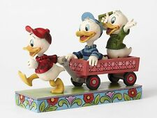 Disney Traditions Huey Dewey And Louie Here Comes Trouble Figurine 13cm 4054283