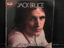 Jack Bruce Songs For A Tailor Polydor Records 583 058 British import