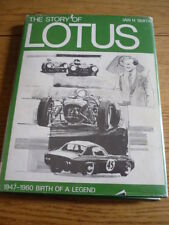 LOTUS 1947 to 1960 BIRTH OF A LEGEND Car Book jm