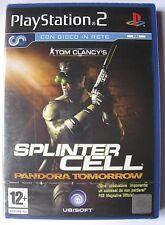 SPLINTER CELL PANDORA TOMORROW PS2 EDIZIONE ITALIANA NUOVO SIGILLATO