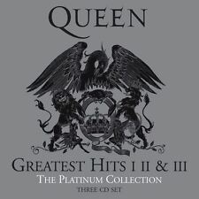 Queen GREATEST HITS I, II & III (PLATINUM COLLECTION) Best Of 51 Songs NEW 3 CD