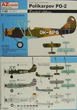 *NEUHEIT* Polikarpow Po-2 ,1:48, AZ Model,DDR,Jugoslawien,limitiert , Neu