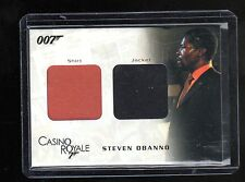 James Bond in Motion DC07 costume card 147/1250