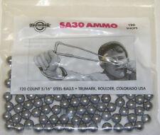 "TRUMARK SLINGSHOT 120 COUNT 5/16"" STEEL-BALLS SA30 AMMO SLINGSHOT STEELIES"