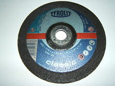 "TYROLIT CLASSIC A30 7"" CAST IRON STEEL CUTTING DISC DISK 1/8 7/8 178 2.5 22.23mm"
