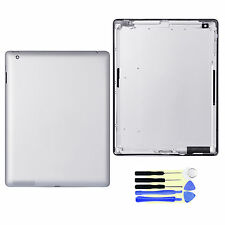 For iPad 4 Wifi Version A1458 Replace Back Door Battery Cover Housing silver New