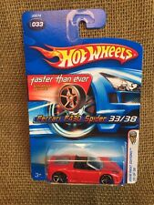 Hot Wheels 2006 Faster Than Ever RED HOT Ferrari F430 Spider