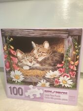 "100 Piece Puzzle "" Sisters"" By Jane Maday"
