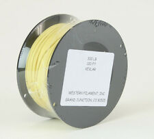 New Tuf-Line Western Filament Kevlar Cord 300lb 100ft Color Yellow
