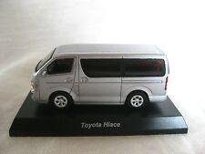 1:64 Kyosho TOYOTA Hiace Silver Diecast Model Car