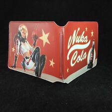 Fallout 4 Card Holder Bi Fold Wallet Nuka Cola Sci Fi Woman Plastic New Bethesda