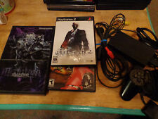 Sony Playstation 2 PS2 Bundle w/Megatron skin and 2 games, SCPH-77001