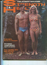 Strength &  Health  Feb 1974 John Davis  Jim Johnson     MBX41