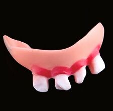 FD2826 Halloween Funny Fake Decay Teeth Dentures Prop Costume Fancy Party 1pc