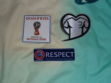 Russia 2018 World Cup Qualifiers Patch Set For Football Shirt Jersey Iron On