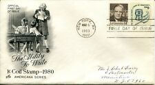 March 6th, 1980 The Ability to Write Stamp First Day Cover 1/1 EX Condition