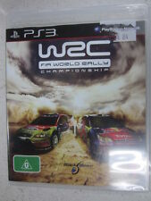 WRC fia world rally championship PS3