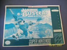 Super Buster Bros SNES 16 Bit Super Nintendo Vidpro Card