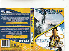 The Day After Tomorrow-2004-Dennis Quaid/Ice Age-2002-2 Disc-2 Movie-DVD
