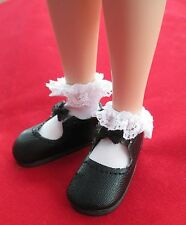White Lace Socks for BJD Iplehouse Volks Tyler Bethany Dollfie BJD 30-40mm foot