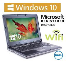 "Fast Dell D531 14"" Latitude Laptop Computer AMD 1.8Ghz WiFi DVD Win 10 60GB HD"