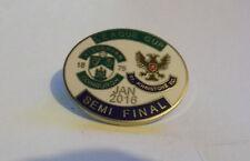 HIBERNIAN FC VS ST.JONSTONE FC BADGE LEAGUE CUP SEMI FINAL 2016