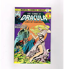 TOMB OF DRACULA #43 Grade 9.0! Classic cover by Wrightson! Intact value stamp!