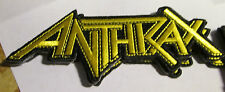ANTHRAX PATCH EMBROIDED 2015 LIMITED PRODUCTION COLLECTABLE RARE