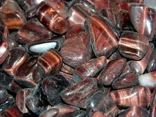New listing Tigers eye all natural red polished Congo 3/4-1.5 inch 1/4 pound lot 8-14 pieces