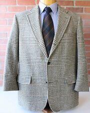 Brooks Brothers Brookstweed Green Beige Red Plaid Blazer Sportcoat Wool USA 44R