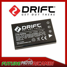 BATTERIA AL LITIO 1700 mAh TELECAMERA DRIFT GHOST HD 1080p ACTION CAM BATTERY