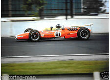GRAHAM HILL INDY INDIANAPOLIS 500 1967 LOTUS 42F 42 F PHOTOGRAPH RARE